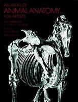 Atlas of Animal Anatomy for Artists, Paperback by Ellenberger, Wilhelm, Like ...