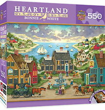 MERMAID'S WATCH by Bonnie White - MasterPieces HEARTLAND - 550 piece puzzle NEW