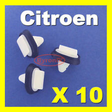 CITROEN JUMPER RELAY SIDE TRIM MOULDING PLASTIC CLIPS EXTERIOR RUB STRIP X 10