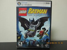 LEGO Batman: The Videogame  (PC, 2008) *Tested/Complete/Near Mint