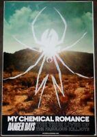 MY CHEMICAL ROMANCE Danger Days Ltd Ed Discontinued RARE New Poster! MCR