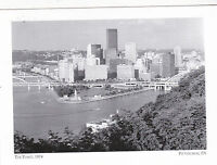 """""""The Point, 1974"""" (AKA The Gateway To West)-Pittsburgh, PA. {Postcard} (14-PA.)"""