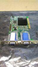 Matrox Dual VGA AGP Video Card 971-0302 G45+MDHA16D0E6F