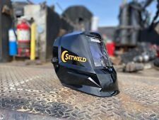 Welding Helmet With Patented Dual Light System