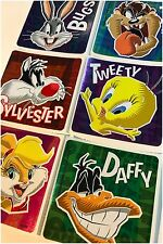 Looney Tunes Stickers x 6 - Birthday Party Favours - Foil - Loot Bag Tweety Bugs