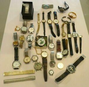 Job lot of Men's ,women's Watches x 32