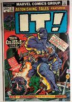 ASTONISHING TALES #21 IT!  (1973) Marvel Comics 1st Colossus FINE-
