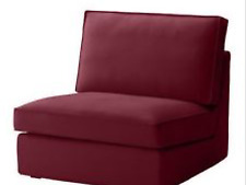 New Ikea Kivik One section COVER SET in Dansbo red-lilac