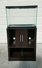 20 Gallon Aquarium and Stand with Supplies Good Used Condition (Local Delivery)