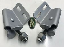 Land Rover Series 2a Bulkhead to Windscreen Fixing Bracket Hinges/clamps