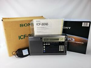 Sony ICF-2010 AIR/FM/LW/MW/SW PLL Synthesized Receiver   Original Owner