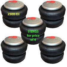 set of 5 air bag standard 2500 D-I   ride springs bags
