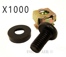 M6 Rack Rail Clip Nuts Pack of 100 clip nuts EEZY Clips