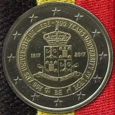 2 Euro Münze Gedenkmünze Belgien 200 Jahre Universität Liege Lüttich 2017 lose