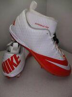 Nike Football Cleats Lunar Superbad Pro 511328-161 Mens Size 16 Orange White NEW