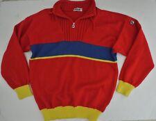 vtg Fila men's wool sweater I 54 Us 44 L red Italy