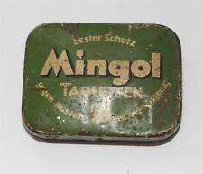 alte Blechdose, Mingol Tabletten, Gimborn , Emmerich a. Rh.  #F564