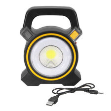 30W Solar Portable Rechargeable LED Flood Work Light Outdoor Garden Spot Lamp