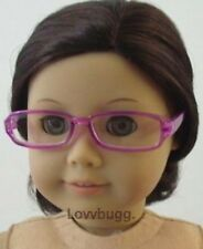 Purple Lavender Eye Glasses for American Girl 18inch Doll Accessory Most Variety