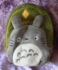 1/3 scale BJD Dollfie Plush School Backpack Bag Doll My Neighbor Totoro Green