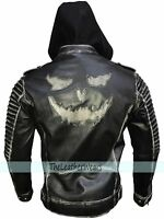 Suicide Squad Joker Jared Leto Killing Leather Jacket - All Sizes