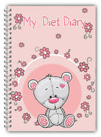 A5 DIET DIARY/WEIGHT LOSS PLANNER/TRACKER/FOOD DIARY SLIMMING DIARY /FUN PAGES