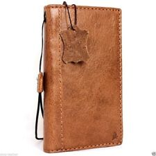 genuine vintage leather Case for samsung galaxy note 5 book wallet slim cover uk