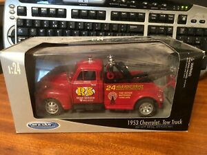Welly 1/24 Scale #22086 W 1953 Chevrolet Tow Truck - Boxed