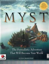 Myst (1997) Windows CD-ROM Complete with Guidebook Big Box Red Orb