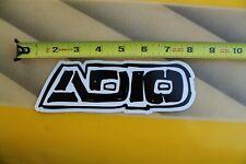 ADIO Footwear Shoe Co Skateboard Bam Margera F1 Vintage Skateboarding STICKER