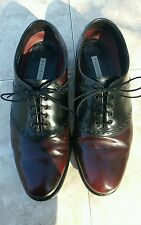 Florsheim dress shoes size 9 eee cordovan and black