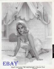 Martha Hyer busty barefoot VINTAGE Photo Carpetbaggers