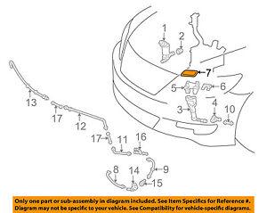 85044-50060-C0 Toyota Nozzle sub-assy, type1 h/lamp washer, rh 8504450060C0, New