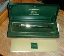 NEW Cross Classic Century Medalist Mechanical Pencil Advertising & 12k Refill