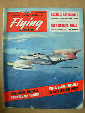 VINTAGE R.A.F. FLYING REVIEW MAGAZINE DECEMBER 1955 USAF SCORPION