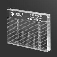 BUM VTA & Cartridge Azimuth Alignment Ruler Headshell Alignment Block