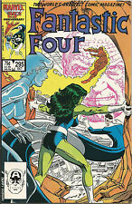 Fantastic Four #295 (Oct. 1986) FN/VF Copper Age Marvel Comic ID#130