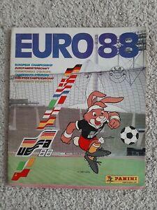 Panini Euro 88 - EM EK EC 88  COMPLETE ALBUM ORIGINAL