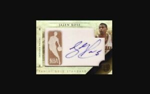 2019-20 Jalen Rose ***Gold Auto*** Serial Numbered NBA Basketball Card #22