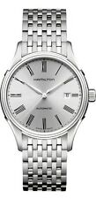 H39515154 Hamilton Valiant Silver Dial Roman Numeral Stainless Steel Mens Watch