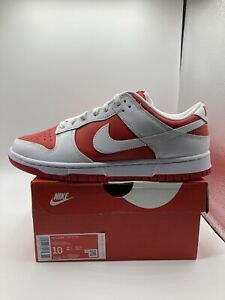 Nike Dunk Low Championship Red (2021) DD1391-600 Size 10