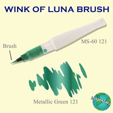 (#i045) Kuretake WINK OF STELLA & WINK OF LUNA **Green**  Two Pens