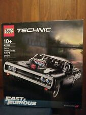 Lego Technic Fast and Furious Dom's Dodge Charger - New & Fast Shipping