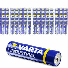 100 x Varta AAA Industrial Micro LR03 Batterie | 1200mAh 1,5V Alkaline| 100 Stk