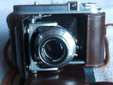 Vintage Germany Voigtlander Perkeo II Folding Camera Color-Skopar 1:3.5/80 Lens