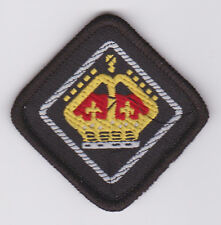 SCOUTS OF BARBADOS - QUEEN'S SCOUT National Highest Rank Top Award Patch