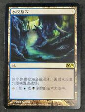 MTG Magic The Gathering Drowned Catacomb Magic 2012 M12 Chinese LP