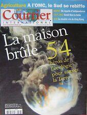 Courrier International   N°788   8 Dec 2005 : 54 heros de l'ecologie pour sauver