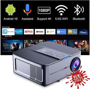 Artlii Play3 Proiettore Full HD 1080P WiFi Smart Android TV 10.0 Supporta 4K