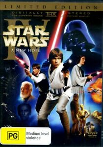 Star Wars Episode IV A New Hope (1977) Limited Edition DVD - R4 - FAST POST